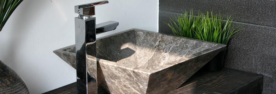 Meuble vasque adapté